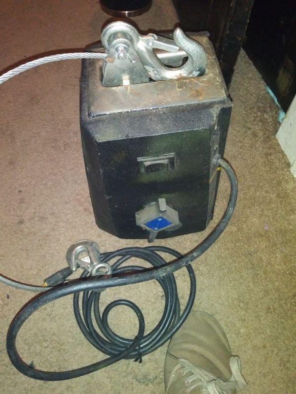Dayton Electric Winch