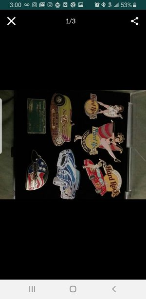 Hard rock collectors pins for Sale in South Gate, CA