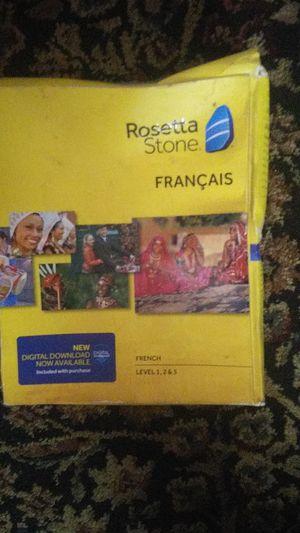 ROSETTA STONE FRANCAIS LEVEL 1,2,3 for Sale in Lincoln, NE