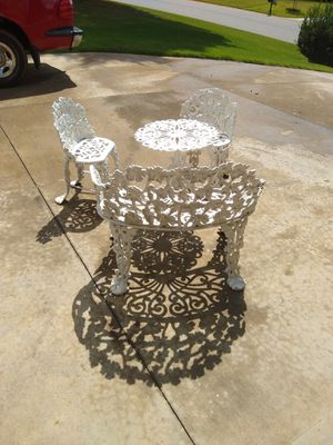 Wrought Iron Patio Furniture for Sale in Anderson, SC