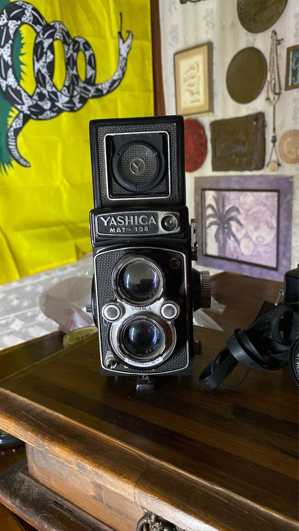 Yashica May-124 and Yashica MG-1