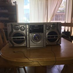Panasonic Stereo with AUX and Bluetooth | Details Below! for Sale in Concord,  CA