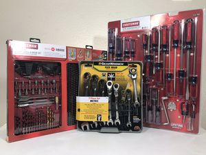 Craftsman + gear wrench for Sale in Houston, TX