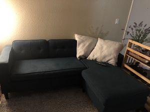 Teal Sofa Sectional for Sale in San Marcos, CA