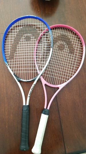 Titanium Tennis Rackets His & Hers for Sale in Upland, CA