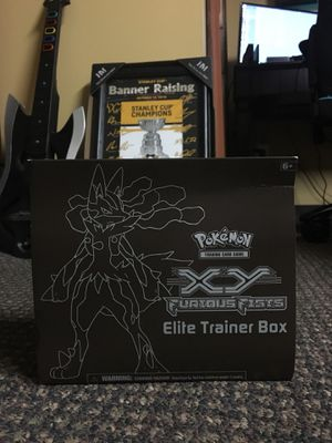 Pokemon XY Furious Fists Elite Trainer Box *unopened* for Sale in Pittsburgh, PA