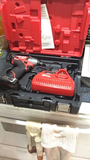 Milwaukee m12 3/8 impact gun for Sale in Clearwater, FL