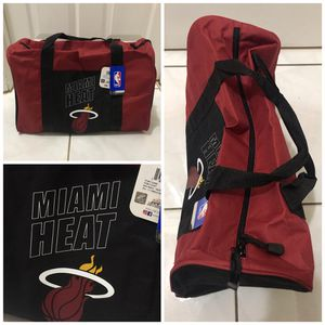 New! NBA Miami Heat Gym Duffle Bag Red for Sale in Miami Gardens, FL