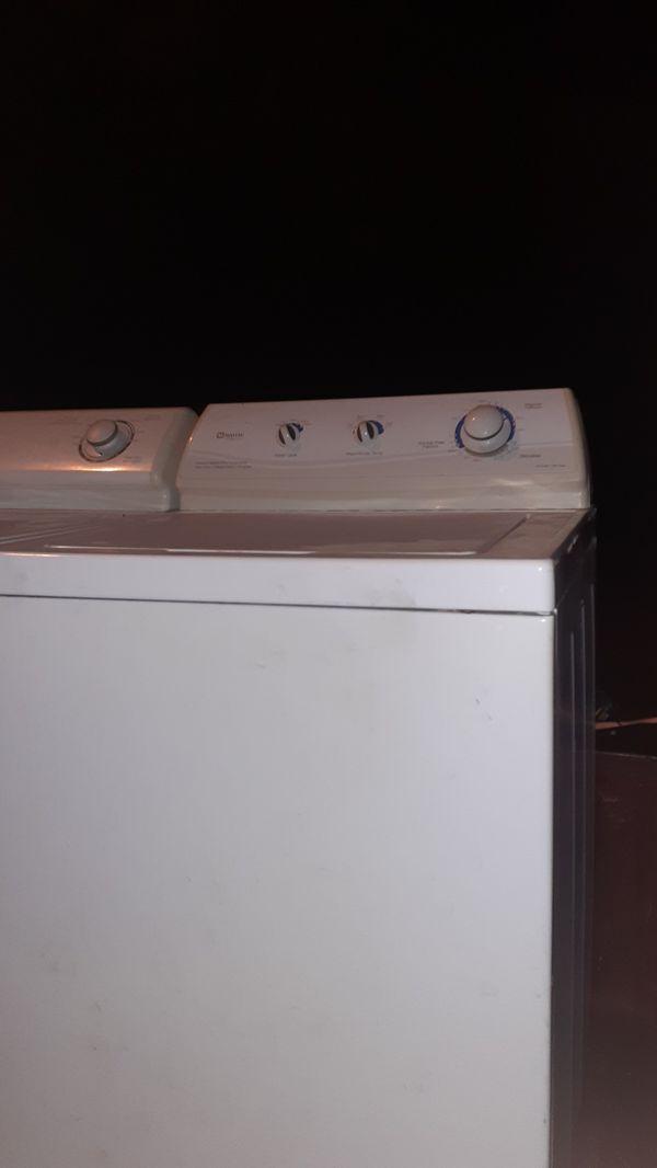 Maytag washer/dryer matching set