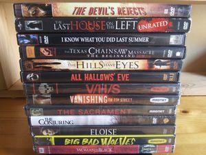 Halloween horror bundle for Sale in Aberdeen, WA