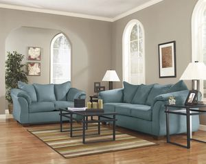 [SPECIAL] Darcgry Sky Living Room Set for Sale in Beltsville, MD