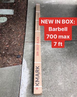 NEW IN BOX Olympic Barbell Bar 7 ft | 700 lbs Max Capacity for Sale in Fremont, CA
