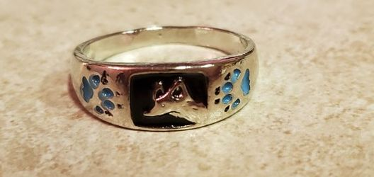 Silver Tone Wolf Ring Size 11 for Sale in Long Beach,  CA