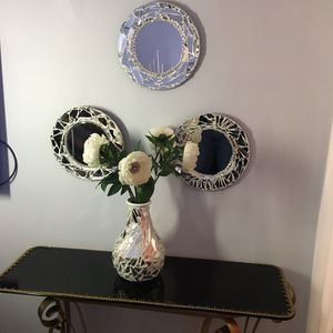 Beautiful set of 3 mirror perfect for your home decoration for Sale in Lawrence, MA