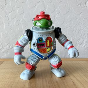Vintage 1990 Teenage Mutant Ninja Turtles Raph the Space Cadet Action Figure TMNT Toy for Sale in Elizabethtown, PA