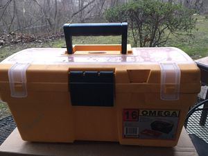 Omega tools box 41x22x18 cm with assorted tools for Sale in Silver Spring, MD