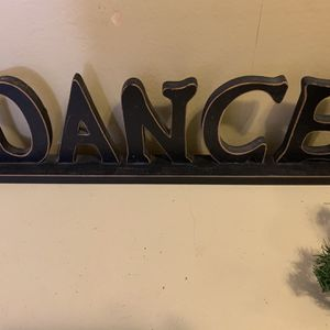 Dance Sign for Sale in Davenport, FL