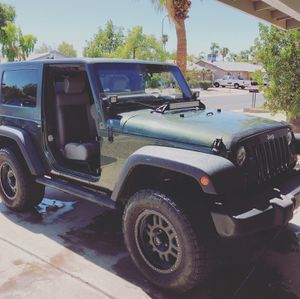 Awesome Jeep only 71,500 miles! 2009 Jeep Wrangler, power everything, no wrecks, always garaged, upgraded hard Top with t tops easy remove! Premium w for Sale in Guadalupe, AZ