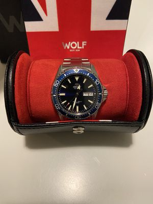 Travel Watch Roll Single WOLF Navigator UK Flag for Sale in Washington, DC