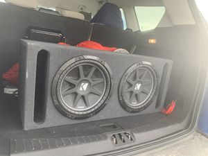 Kicker 12' subwoofers for Sale in Great Falls, MT