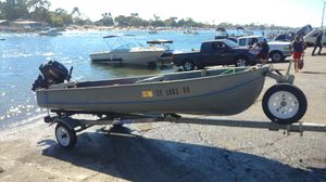 Aluminum Skiff Boat For Sale for Sale in Los Angeles, CA