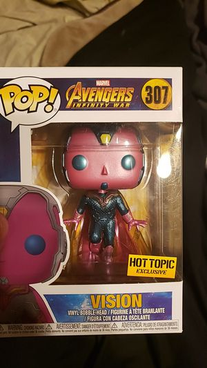 Vision Infinity War exclusive Funko Pop for Sale in Reedley, CA