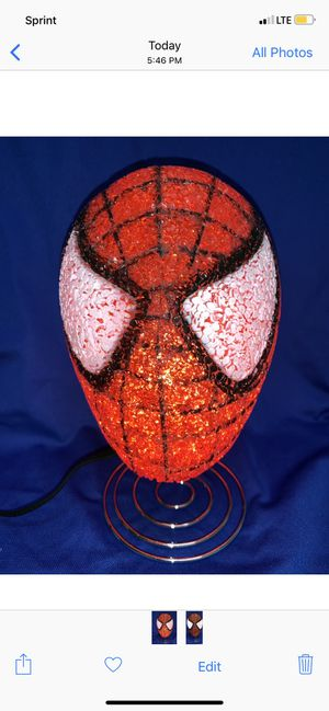 Spider Man Lamp for Sale in Sunnyvale, CA