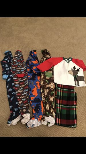 5 pairs of Carter's pajamas - size 24M/2T for Sale in St. Charles, IL