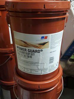 SAE 15-40 Diesel Oil 5 Gallon for Sale in Pompano Beach,  FL