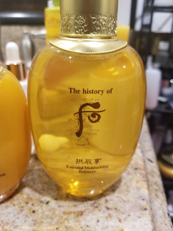 History of whoo gold line new