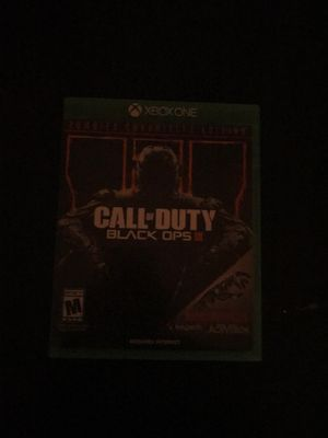 Call of duty black ops 3 xbox one zombie chronicles for Sale in Carson, CA