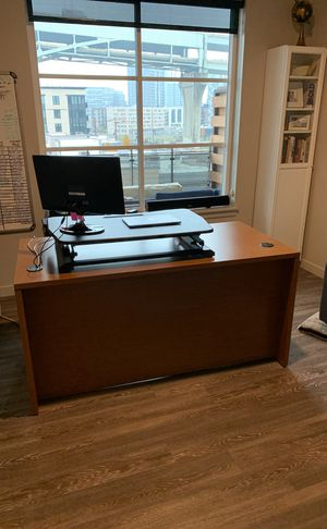 HON office desk, computer desk for Sale in Portland, OR