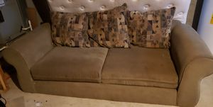 FREE couch set , moving and need to get rid of!There are some normal wear/tear to this set. Will deliver if local. for Sale in Frederick, MD