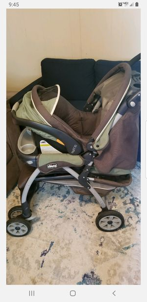Chicco KeyFit 30 travel system (car seat and stroller combo) for Sale in Whitewright, TX