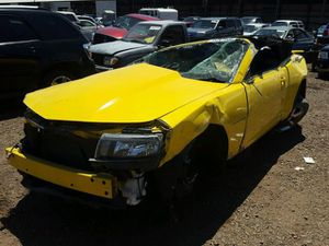 Wrecked 15 Chevy camaro for parts only for Sale in Phoenix, AZ