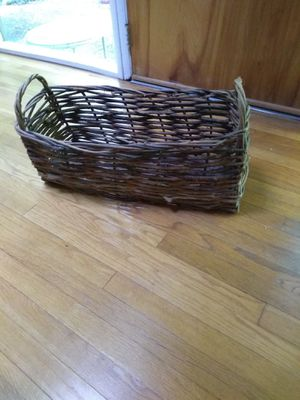 Hand made Willow basket for Sale in Rockville, MD