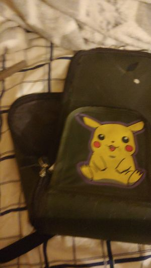 Backpack of Pikachu with two pockets for Sale in San Marcos, CA