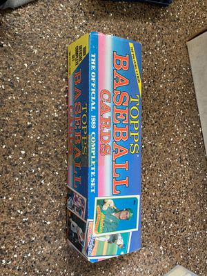 1989 Topps Baseball cards complete set for Sale in Laguna Niguel, CA