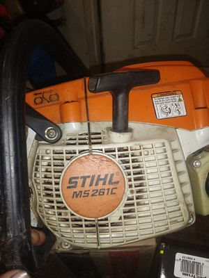 Stihl chainsaw. Ms261c for Sale in Houston, TX