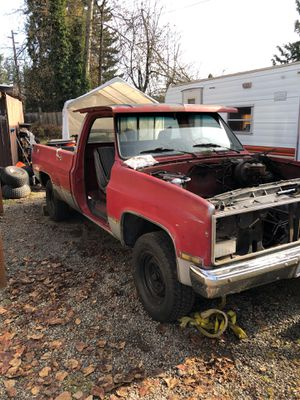 84 Chevy C 20 pick up parting out for Sale in Bonney Lake, WA