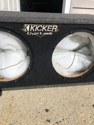 """KICKER Livin Loud 12"""" for Sale in Takoma Park, MD"""