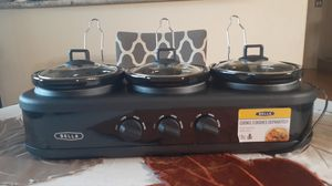 3 Dish Crock Pot 1.5 Qt each ...Bella for Sale in Las Vegas, NV