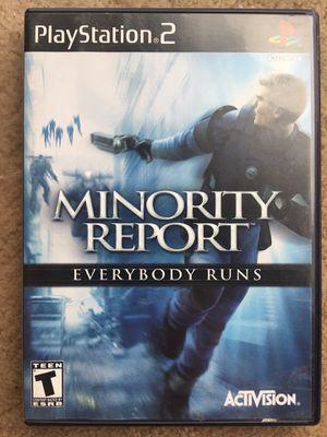 Minority Report: Everybody Runs (PS2) for Sale in Fairfax, VA