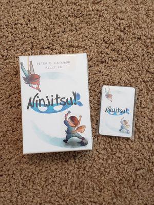 Ninjitsu card game NEW with bonus promo pack for Sale in Washington, PA