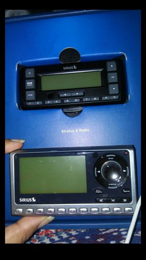 2 Sirius satellite radio for Sale in Silver Spring, MD