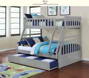 Nice Grey color bunk bed for Sale in Auburn, WA