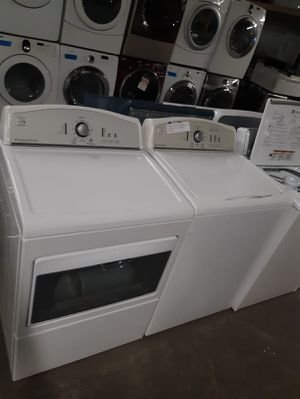 KENMORE XL CAPACITY TOP LOAD WASHER AND ELECTRIC DRYER SET IN GREAT CONDITION $375.00 for Sale in Baltimore, MD