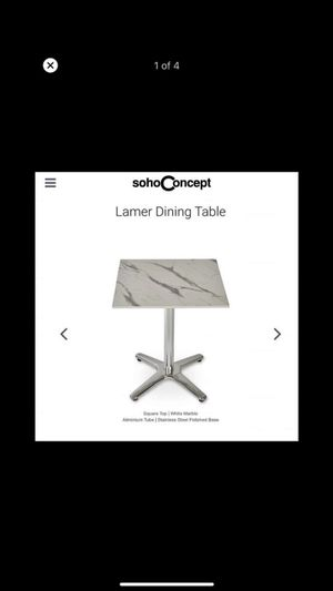 Lamer Dining Table for Sale in Columbus, OH
