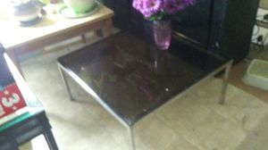 Glass coffee table for Sale in Fort Wayne, IN