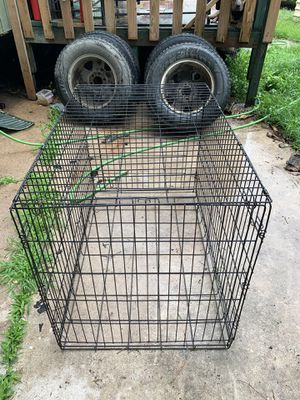 M/L cage does not have tray need gone asap $25 for Sale in Houston, TX